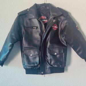 Harley Davidson | Faux Leather Jacket / Size: M